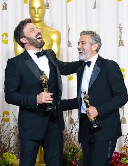 Ben Afleck Clooney batman